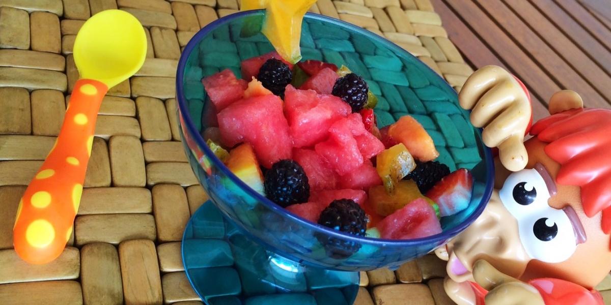 Salada de frutas do Gourmet Jr.