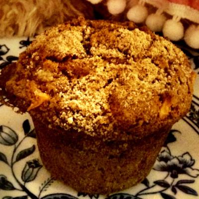 Muffin de maçã com canela