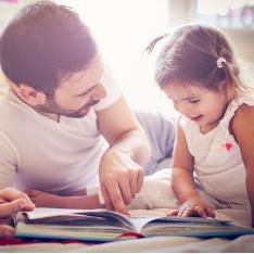 Alimentos e livros para abrir o apetite da criança