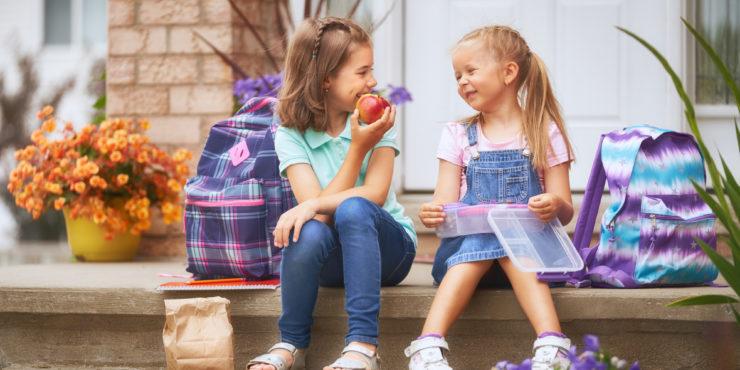 Hora do recreio: o que fazer quando as crianças trocam lanche com amigos?