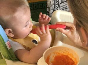 Como escolher as primeiras frutas e legumes para o bebê