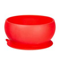 Tigelinha com Ventosa Vermelho - Gourmet Jr.